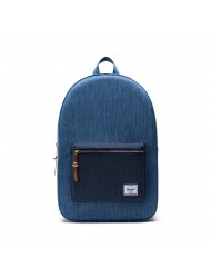 Balo  Herschel Settlement 10005-02730-OS Faded Denim/Indigo Denim